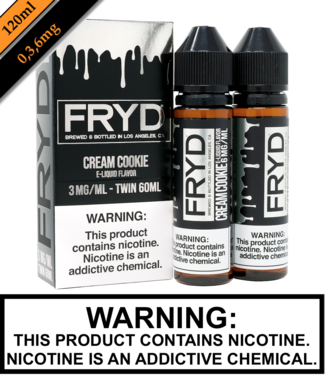 Twist E-Liquid Fryd - Cream Cookie (120ML)