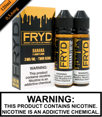Twist E-Liquid Fryd - Banana (120ML)
