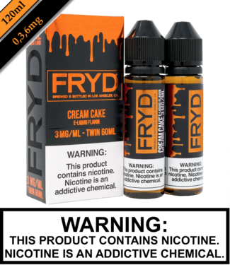 Twist E-Liquid Fryd - Cream Cake (120ML)