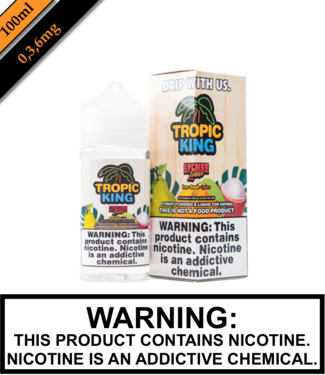 Drip More Tropic King - Lychee Luau (100ML)