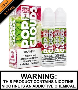 Twist E-Liquid Pop Clouds - Watermelon (120ML)