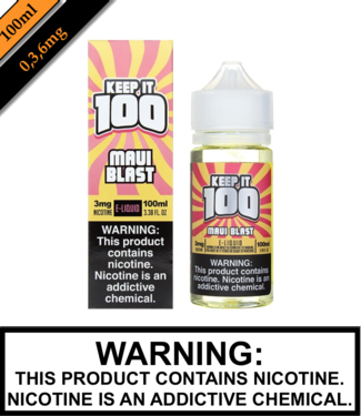 Keep It 100 Keep It 100 - Maui Blast (Tropical Blast) (100ML)