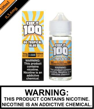 Keep It 100 Keep It 100 - OG Tropical Blue (Blue Slushie Tropical) (100ML)
