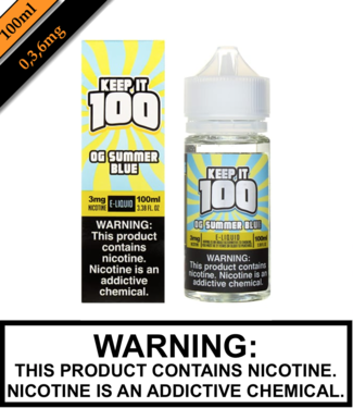 Keep It 100 Keep It 100 - OG Summer Blue (Previously Blue Slushie Lemonade) (100ML)