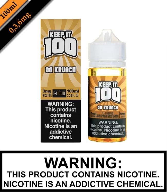 Keep It 100 Keep It 100 - OG Krunch (Krunchy Squares) (100ML)