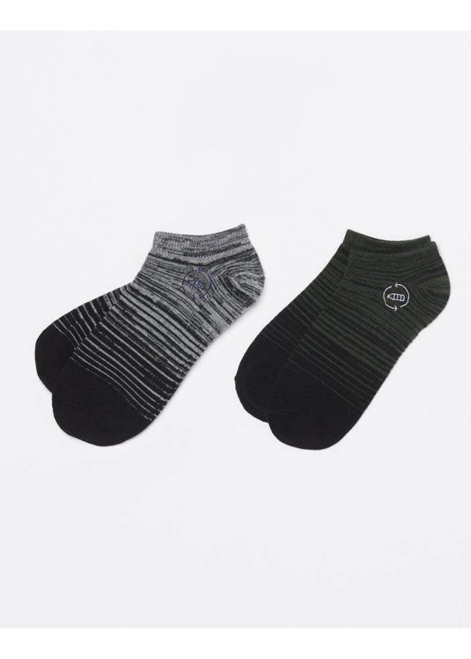 Ten Tree 2-BOTTLE ANKLE SOCK OS18-AWASO