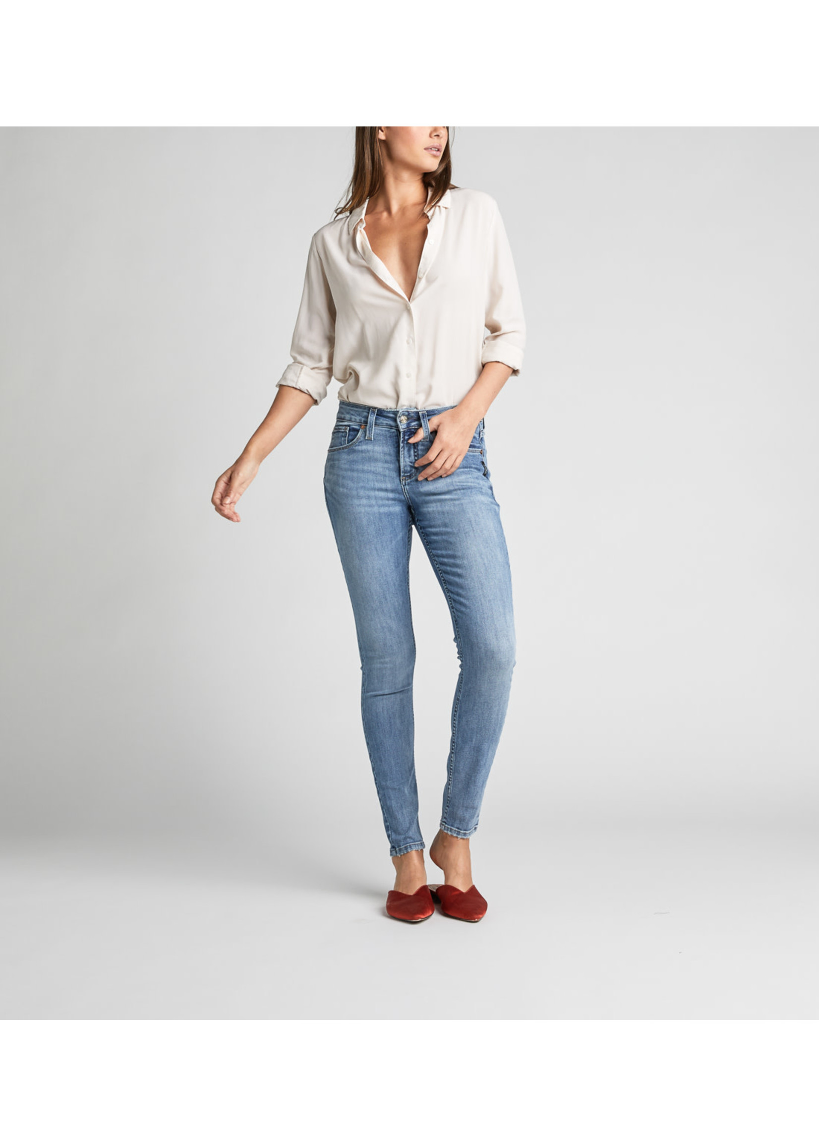 Silver Jeans AVERY SKINNY L94116SSX251