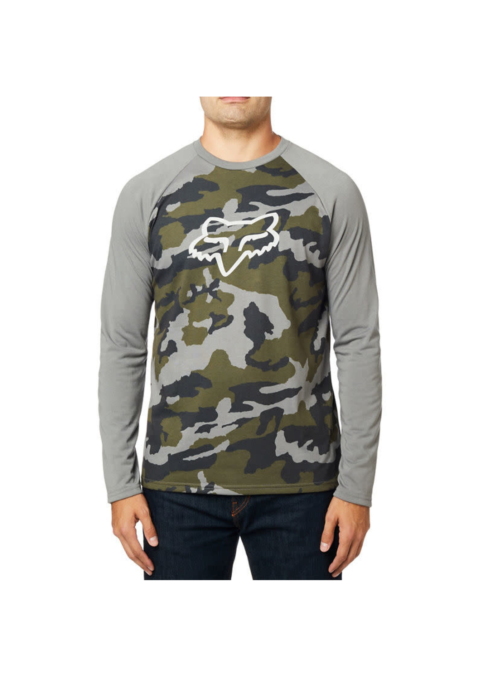 Fox TOURNAMENT CAMO LS TECH TEE 24764