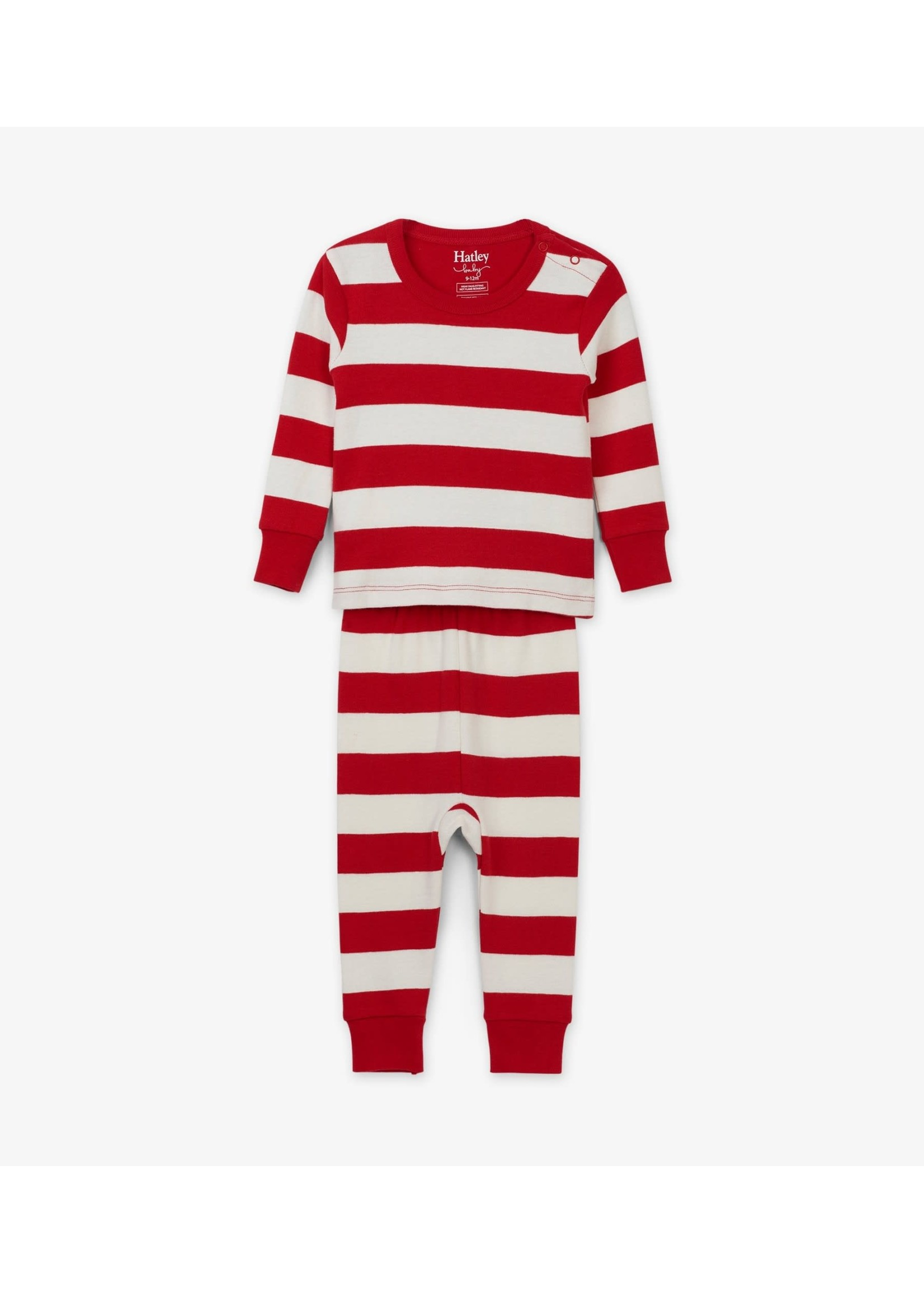 CANDY CANE STRIPE PAJAMA SET F19CSI1253