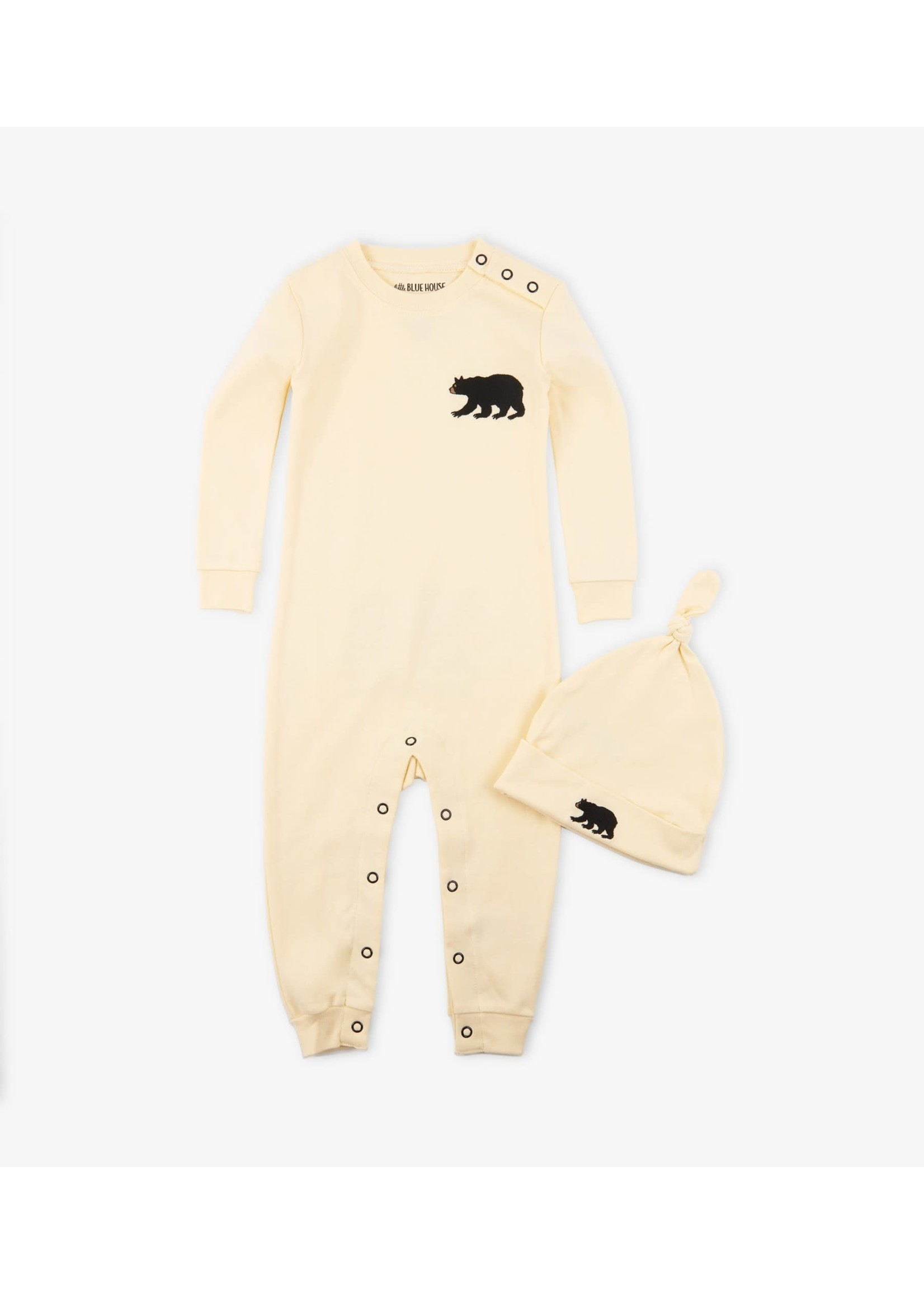 LITTLE BEAR COVERALL & HAT DR2WIBE137