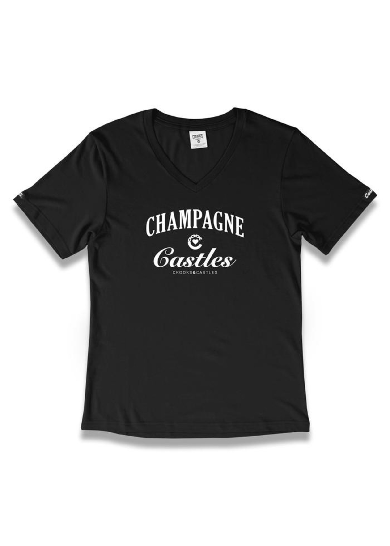 Crooks & Castles CH & CAS VNECK TEE L1950708