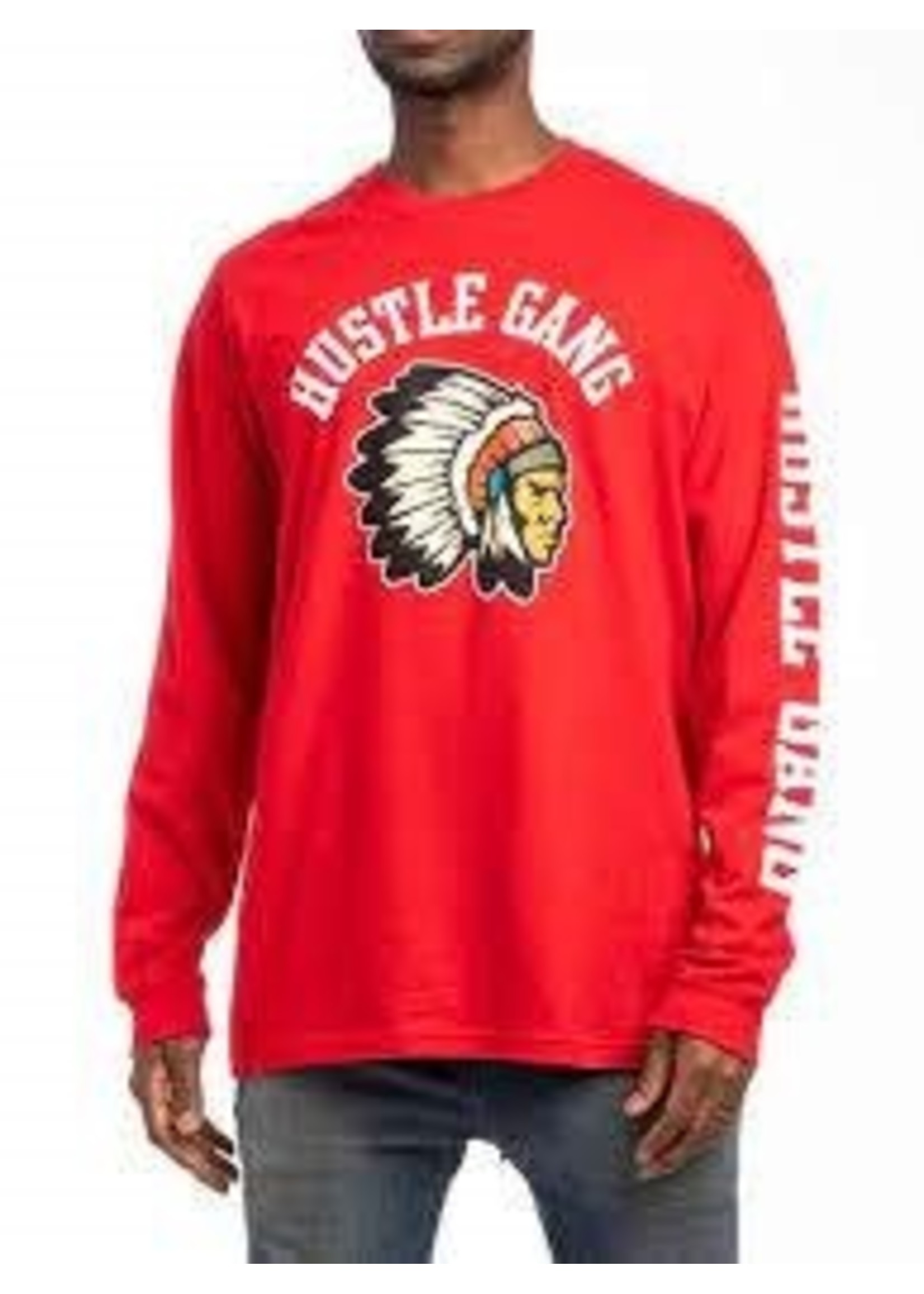 MENS LS T - FRAGMENTED CHIEF HG1960112