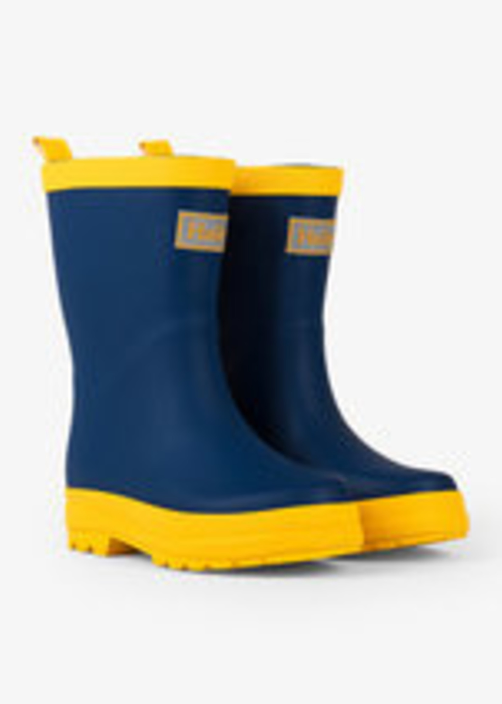 Hatley NAVY & YELLOW RAIN BOOTS RB0NAVY346