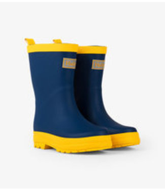 NAVY & YELLOW RAIN BOOTS RB0NAVY346