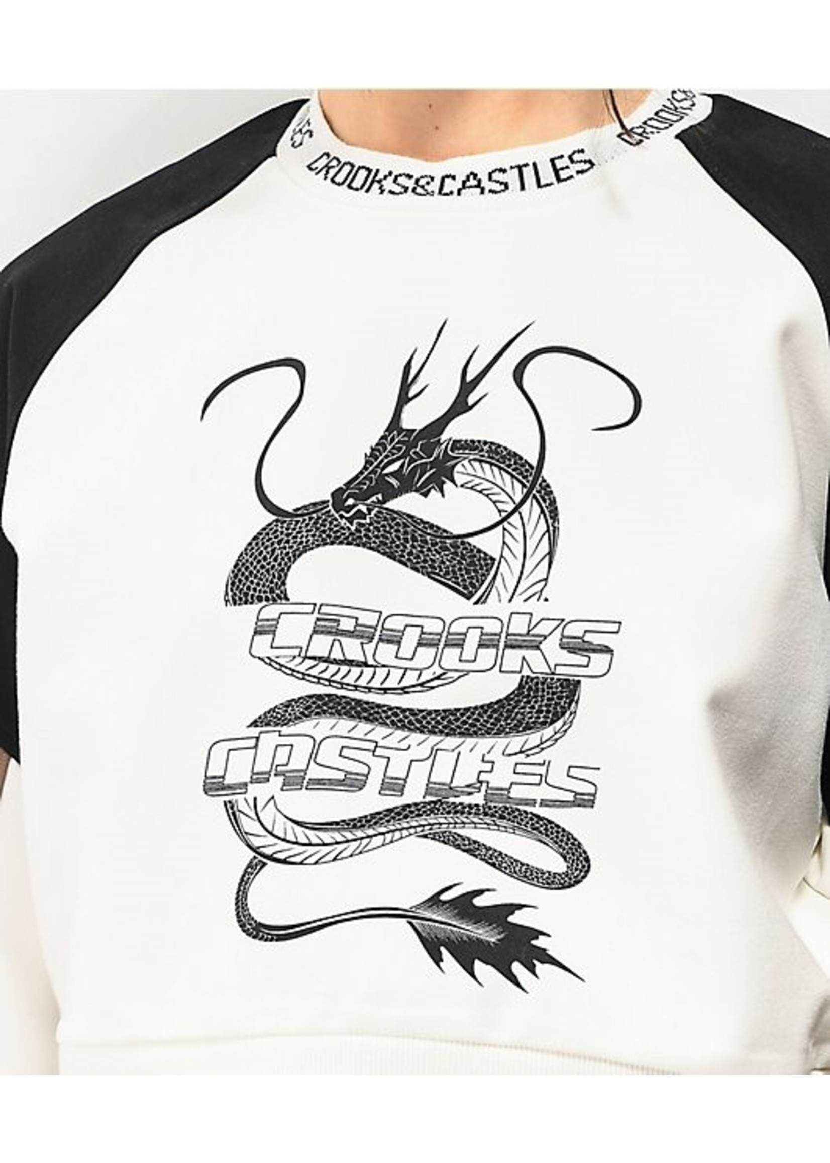 Crooks & Castles LUCKY DRAGON SS TEE L1960700-2