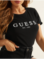 Guess ES SS GUESS 1981 ROLL CUFF TEE W0GI69R8G01