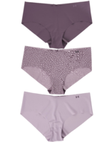 Under Armour WOMEN'S UA PURE STRETCH HIPSTER 3-PACK