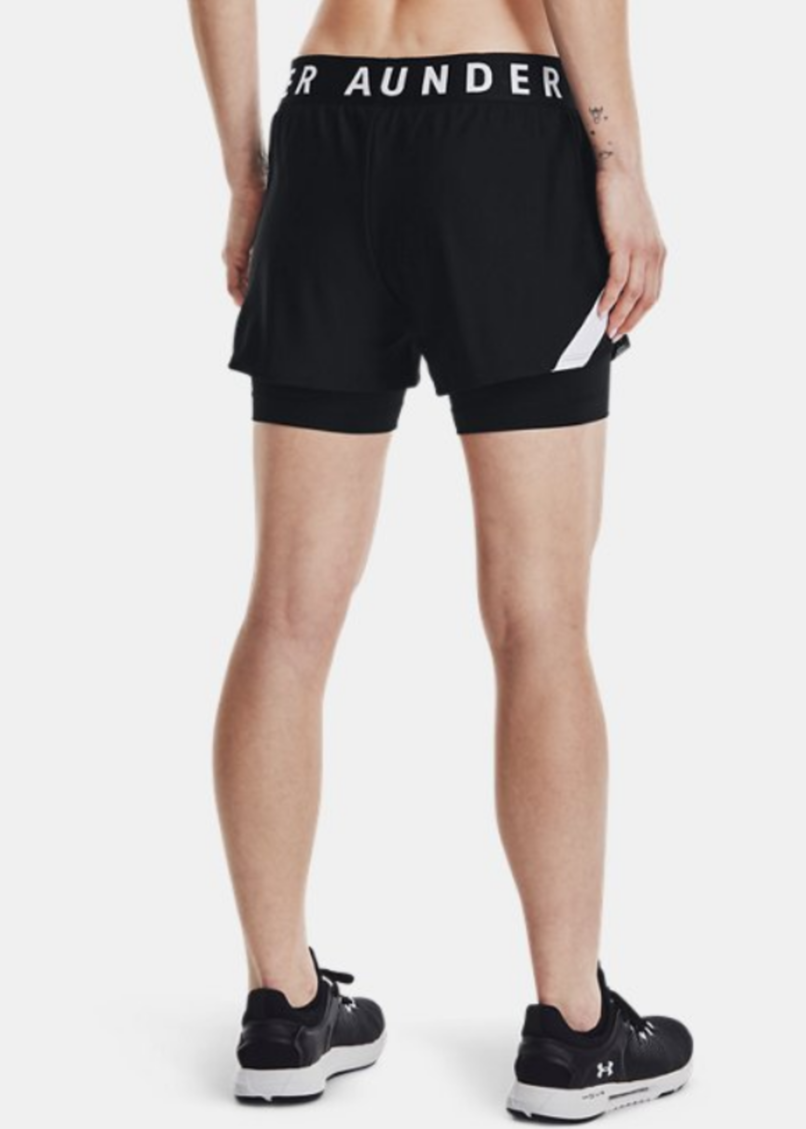 Under Armour WOMEN'S UA PLAY UP 2-IN-1 SHORTS 1351981