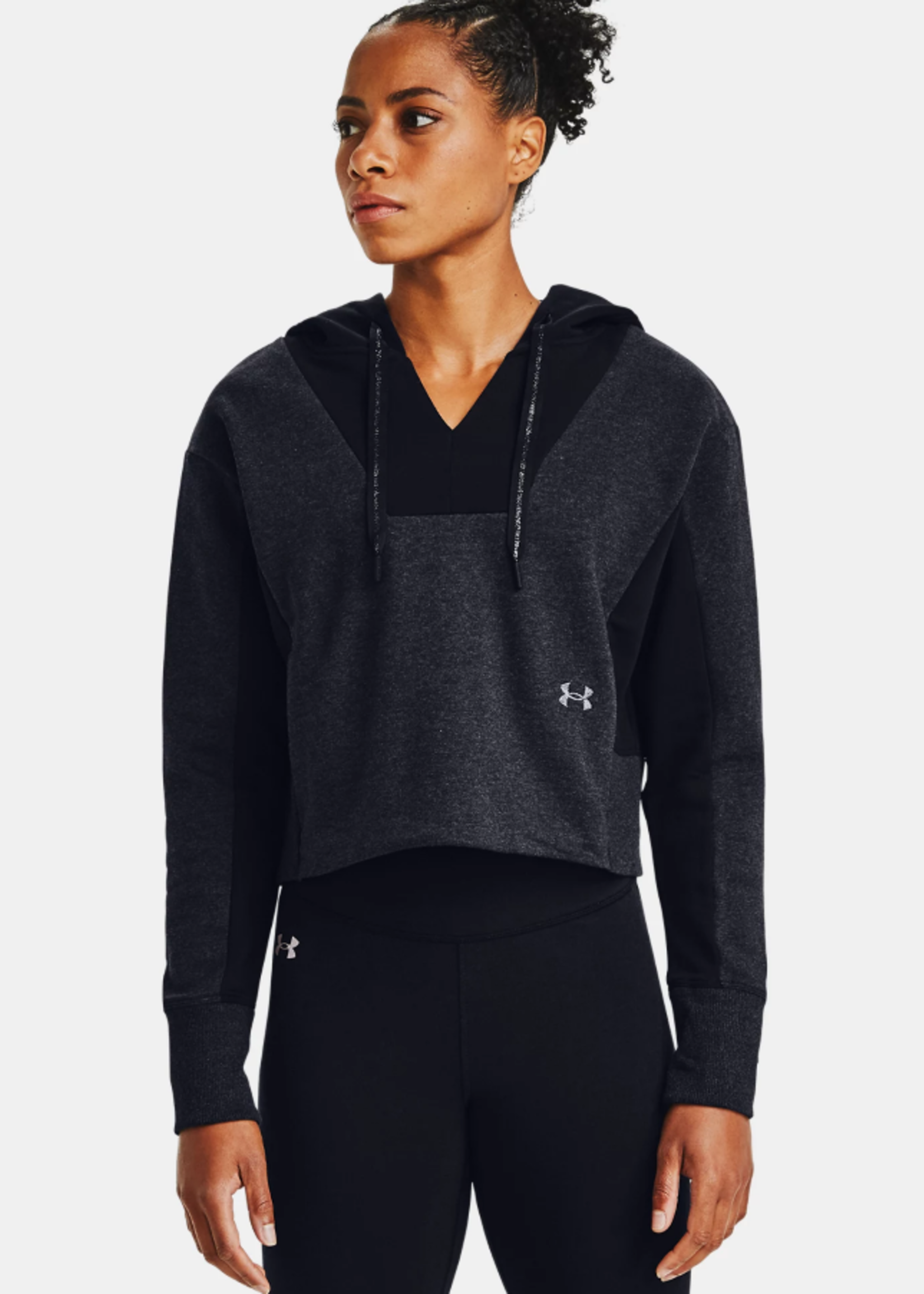 Under Armour WOMEN'S UA RIVAL FLEECE EMBROIDERED HOODIE 1362421