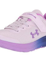Under Armour GIRLS' PRE-SCHOOL UA SURGE 2 AC FROSTY RUNNING SHOES