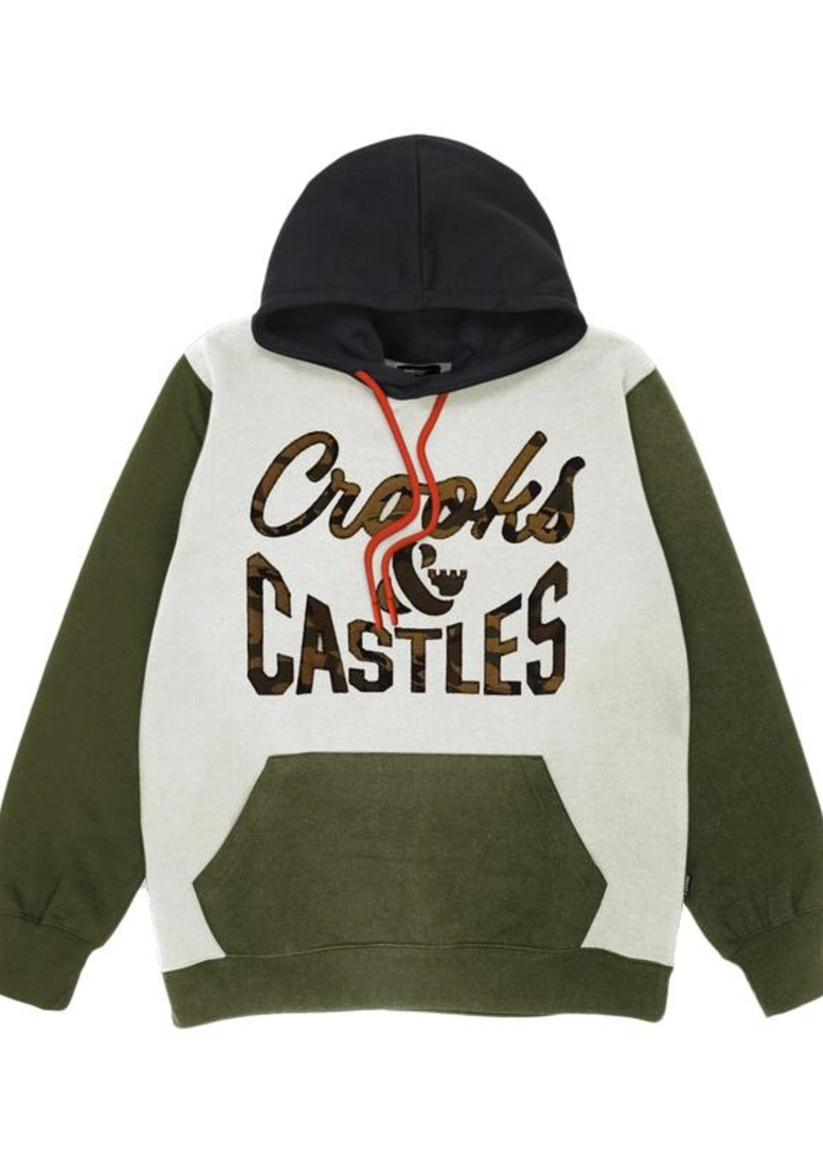 Crooks & Castles REVERSE LOGO HOODIE QS2001127