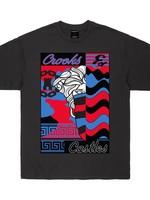 Crooks & Castles MEDUSA WAVES S/S T-SHIRT QS2100716