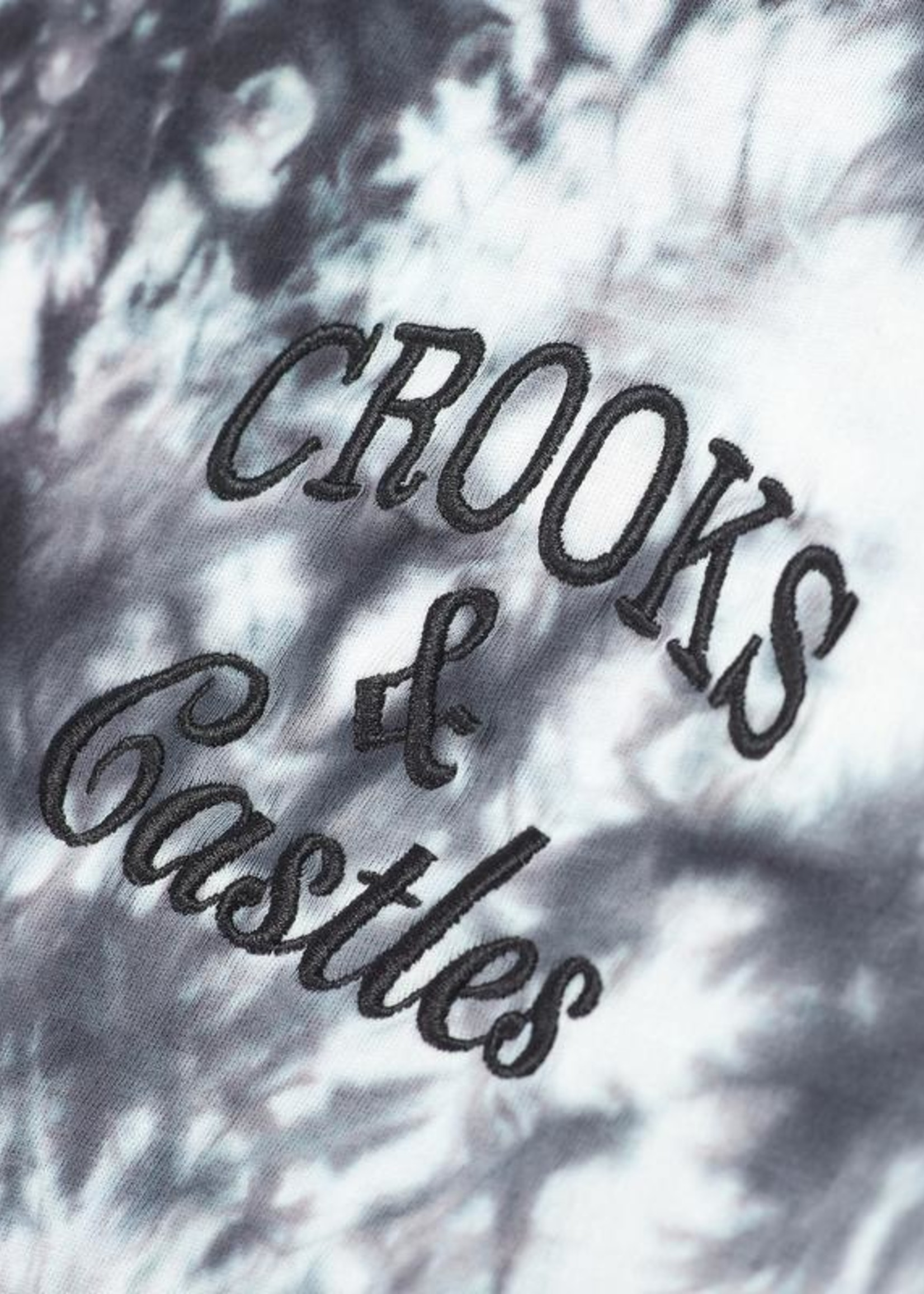 Crooks & Castles ROSES TIE DYE EMB S/S QS210728