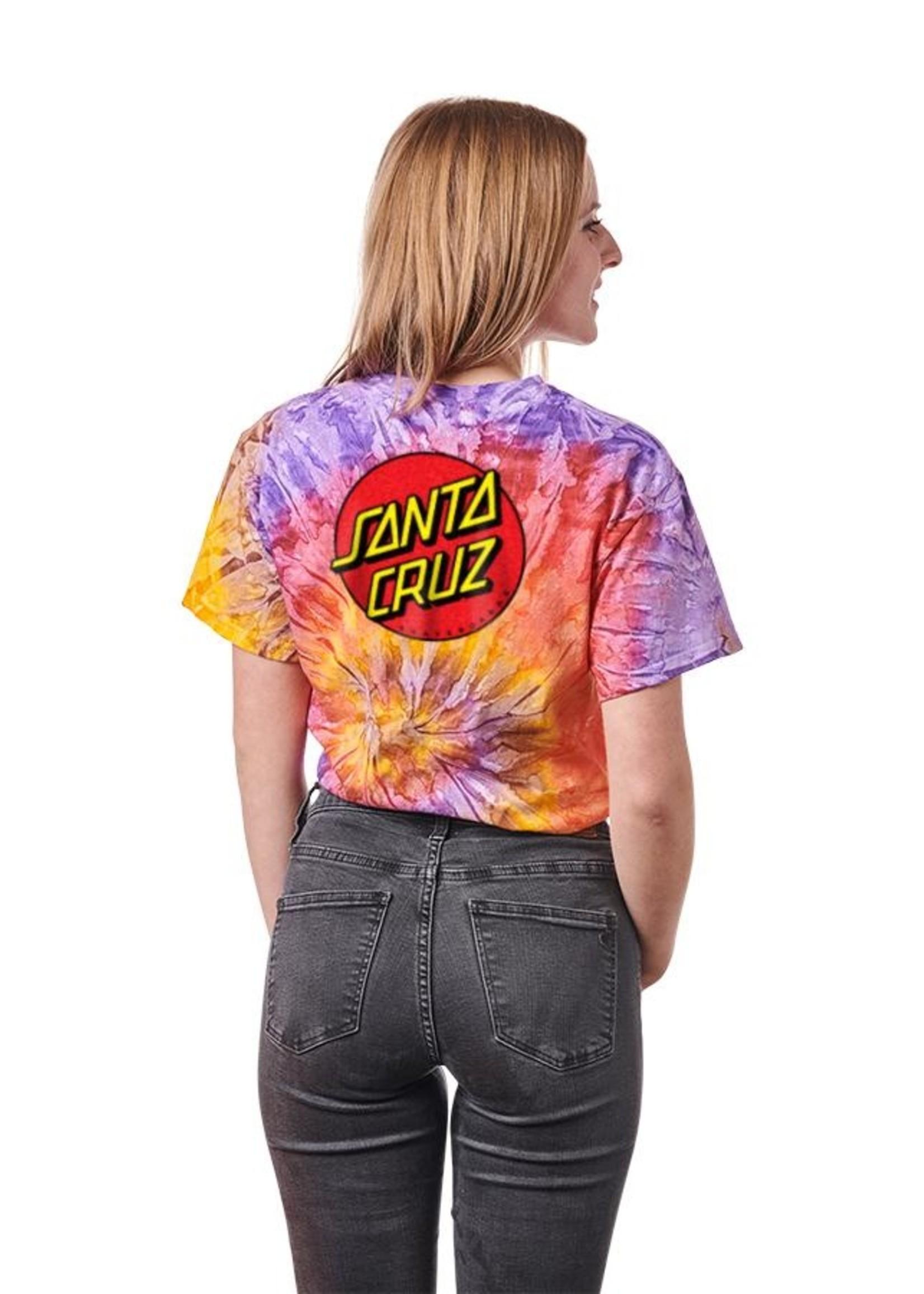 Santa Cruz SANTA CRUZ WOMENS TEE CLASSIC DOT 44151288