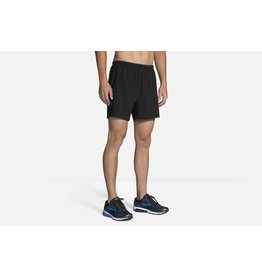 "Brooks Brooks M Go To 5"" Short Black"