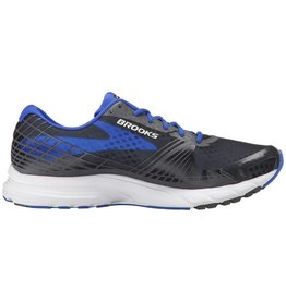 Brooks Launch 3 Anthracite/ElectricBrooksBlue, 12.0, D
