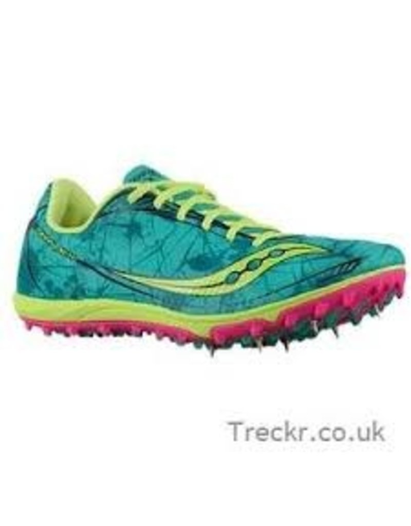 Saucony Saucony W Shay XC4 Green Pink Size 6
