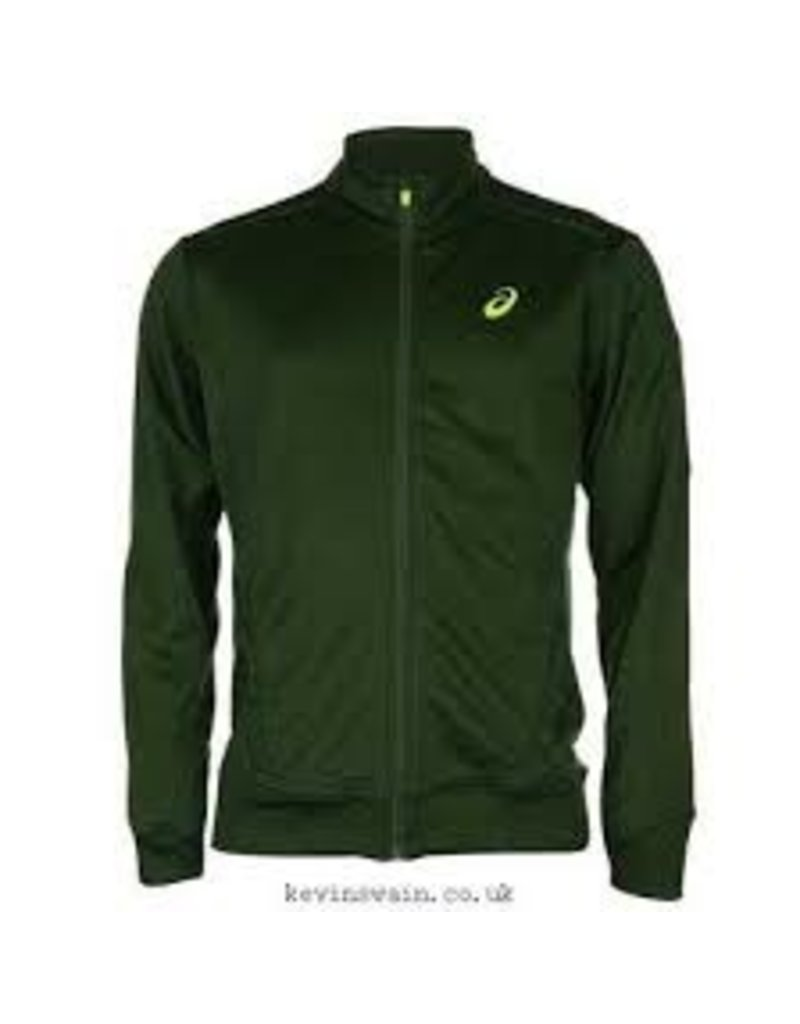 Asics Asics M Track Jacket Oak Green L