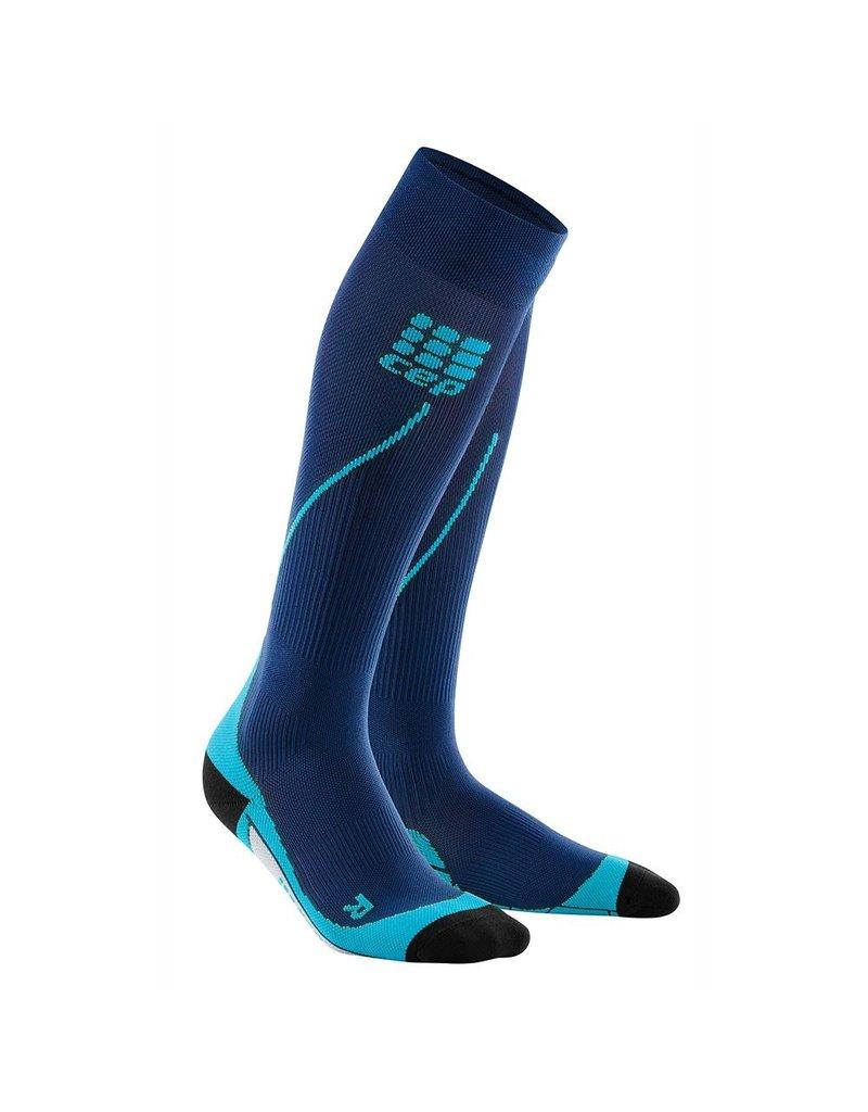 CEP Compression CEP W Progressive+ Run Socks 2.0 Deep Ocean/Green 3
