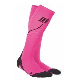 CEP Compression CEP W Progressive+ Run Compression Socks 2.0 Pink/Black 2