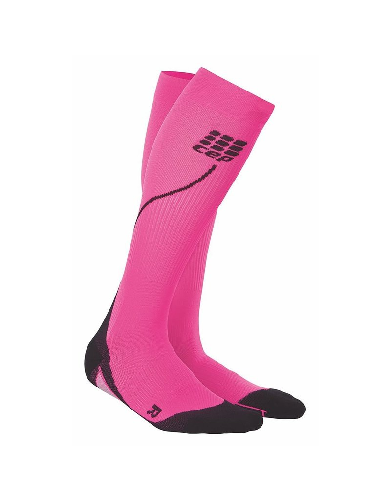 CEP Compression CEP W Progressive+ Run Compression Socks 2.0 Pink/Black 2