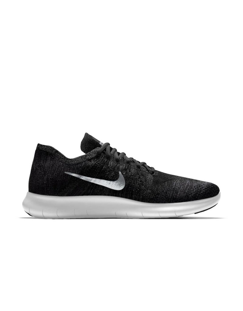 1bc7b20c1d091 Nike Nike M Free RN Flyknit 2017 White Black Grey .