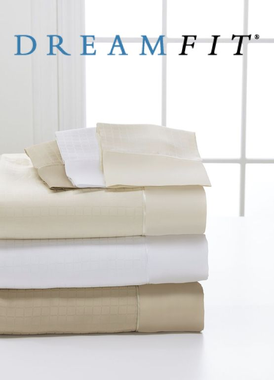 DreamFit Microtencel/Supima Cotton Pillow Case Pair