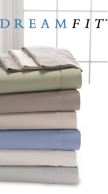 DreamFit Bamboo/Cotton Pillow Case Pair
