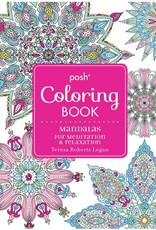 Integral Yoga Distribution Posh Coloring Book Mandalas