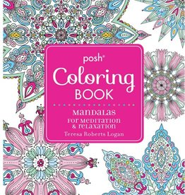 Integral Yoga Distribution Posh Coloring Book Mandalas