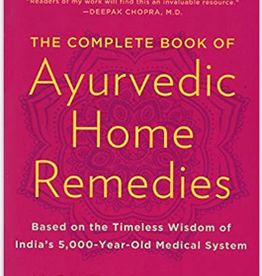 Integral Yoga Distribution Complete Book of Ayurvedic Home Remedies