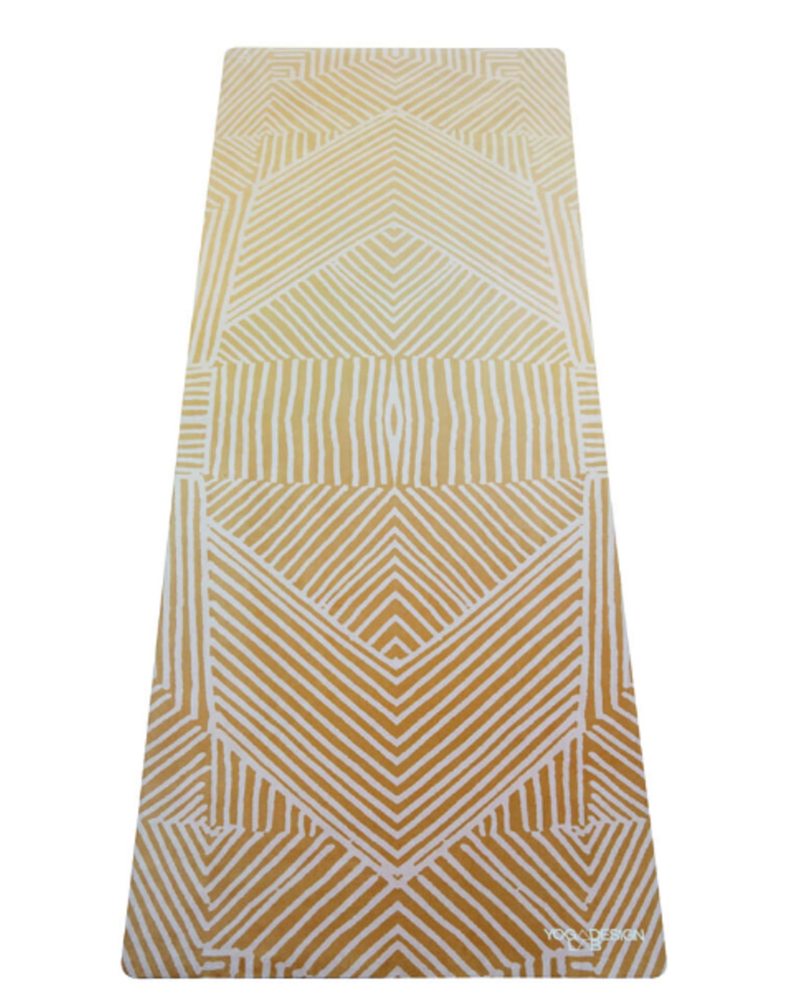 Yoga Design Lab Combo Mat - 3.5mm - Optical Gold