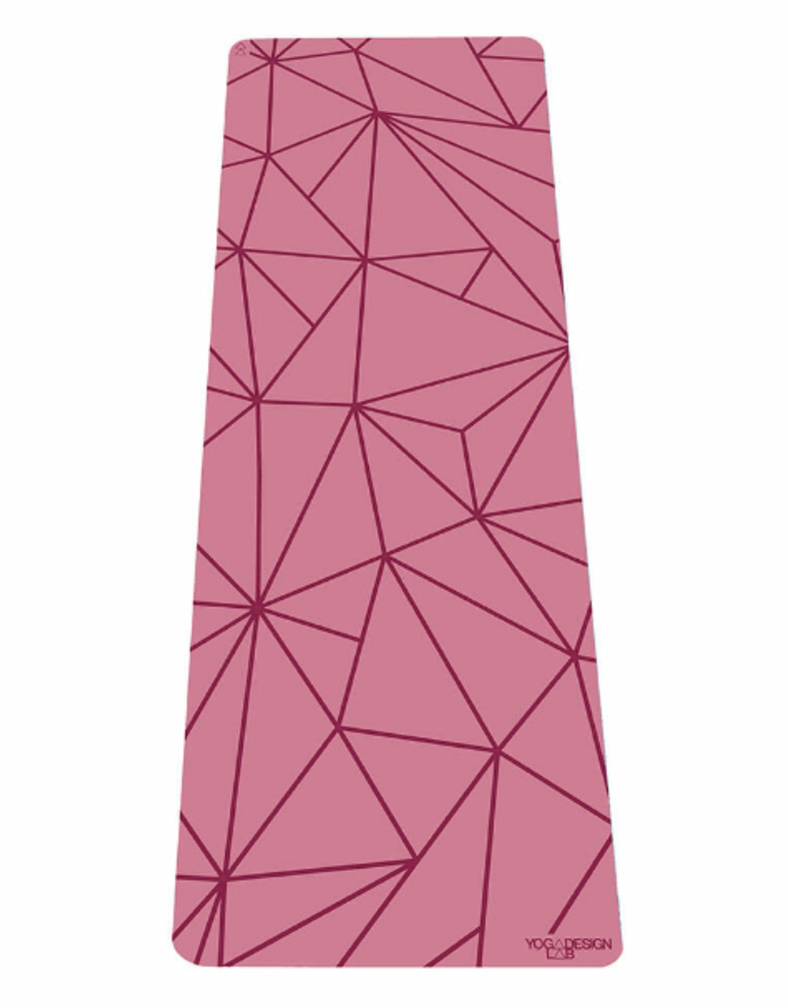Yoga Design Lab Infinity Mat - 5mm - Geo Rose