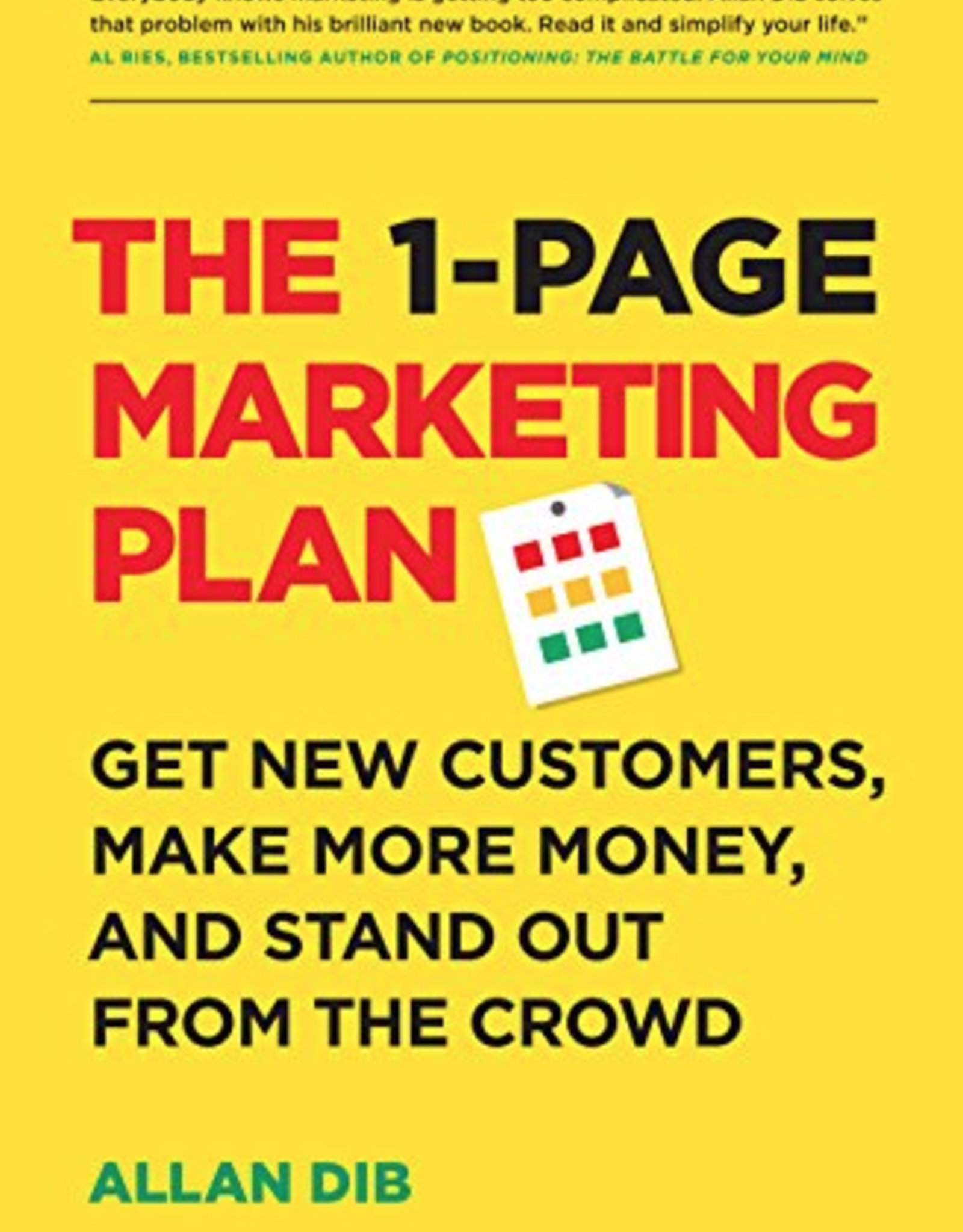 Ingram 1-Page Marketing Plan