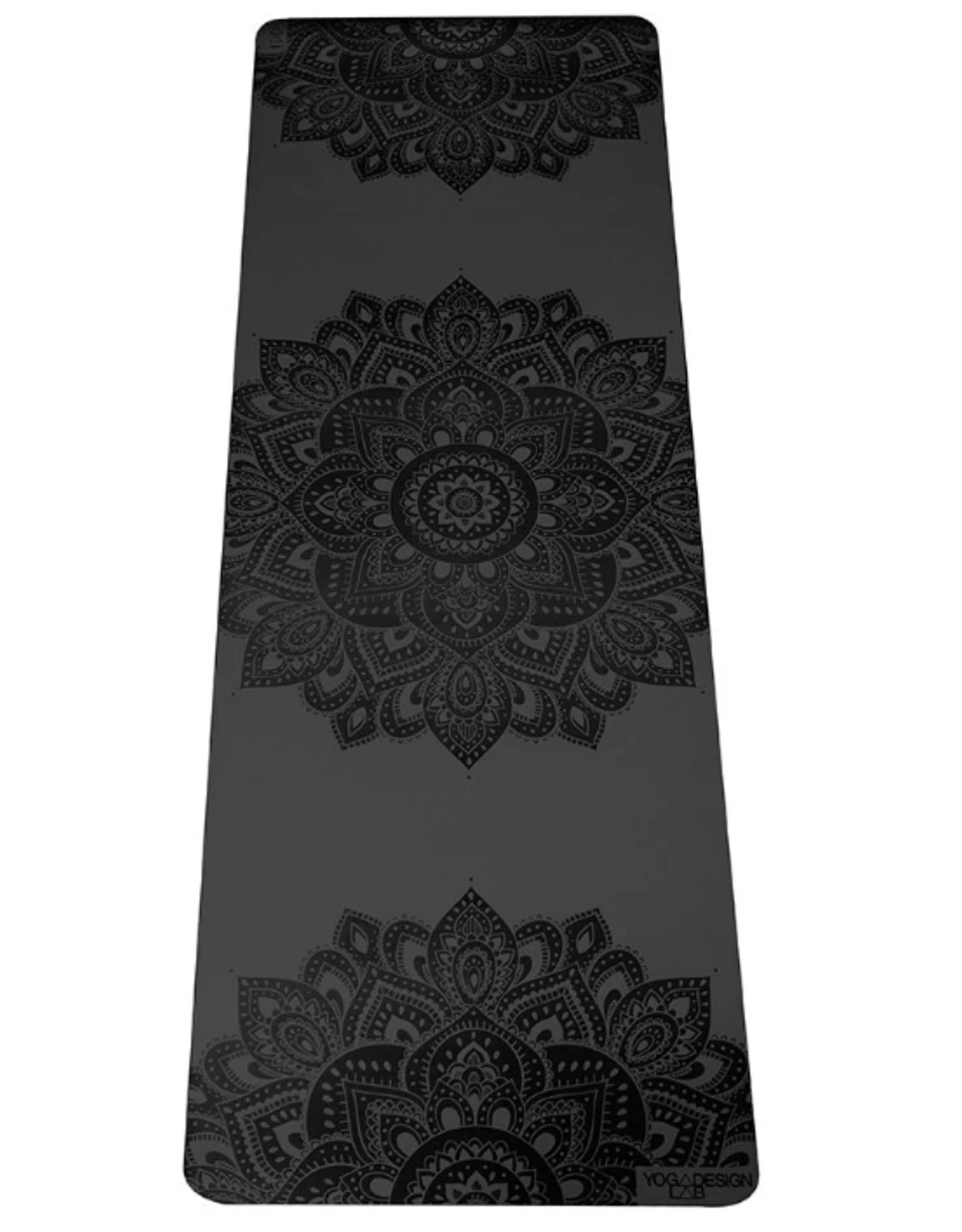 Yoga Design Lab Infinity Mat - 5 mm - Charcoal Mandala