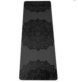 Yoga Design Lab Infinity Mat - 5 mm - Charcoal Mandala
