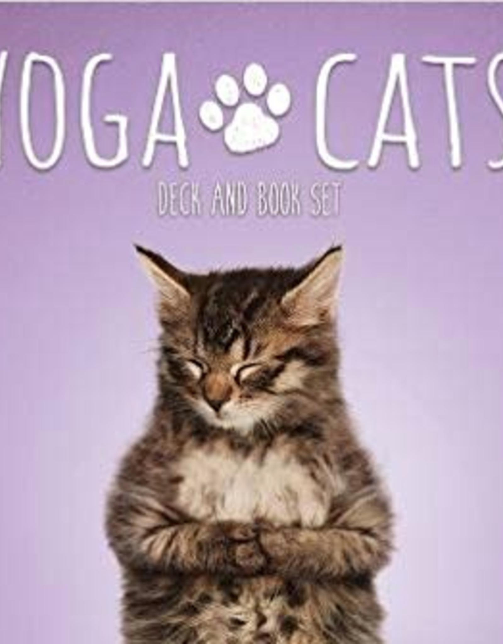 New Leaf Deck: Yoga Cats