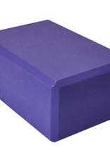 "Foam Yoga Block 4"" - Purple"
