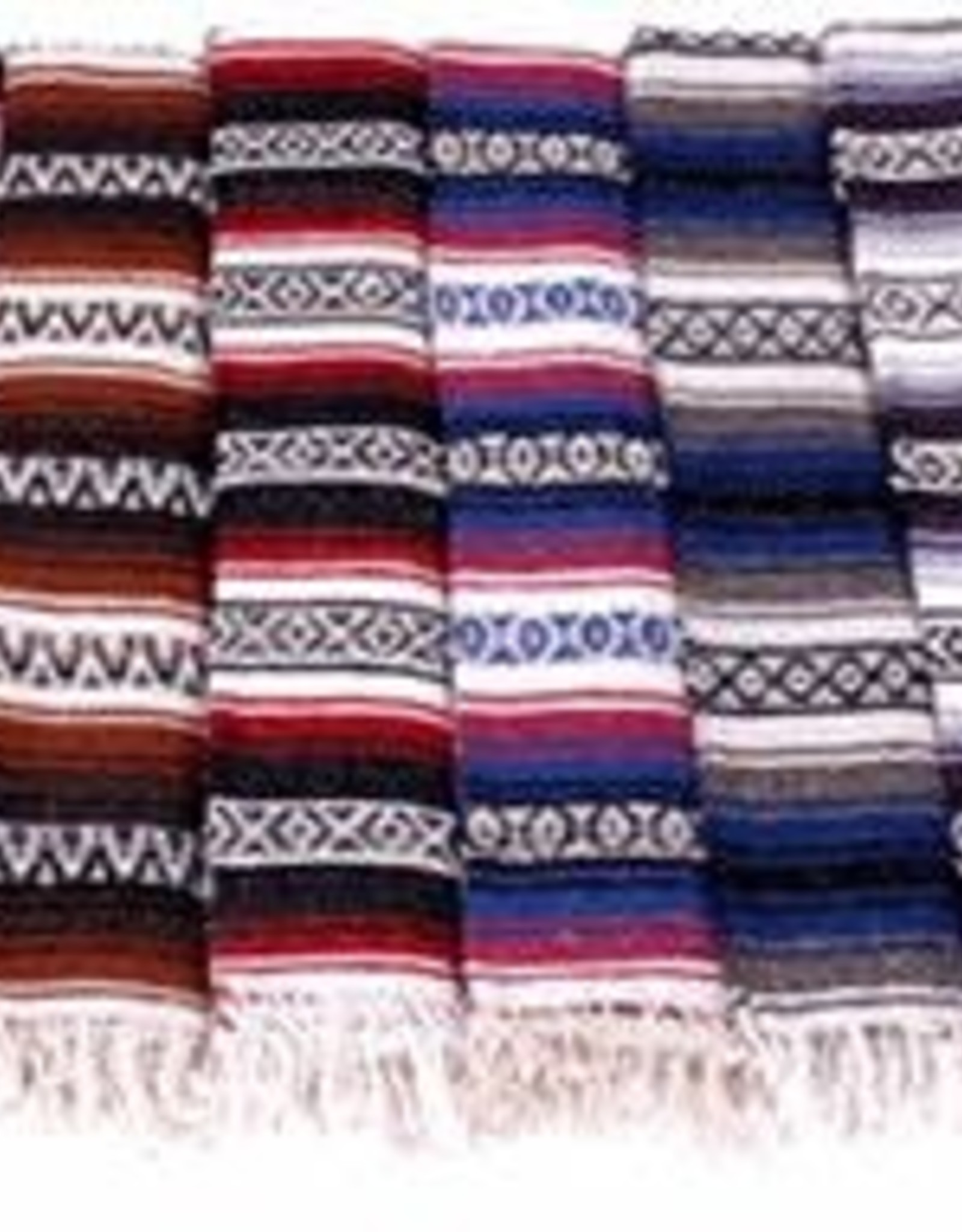 Mexican Blanket - Red