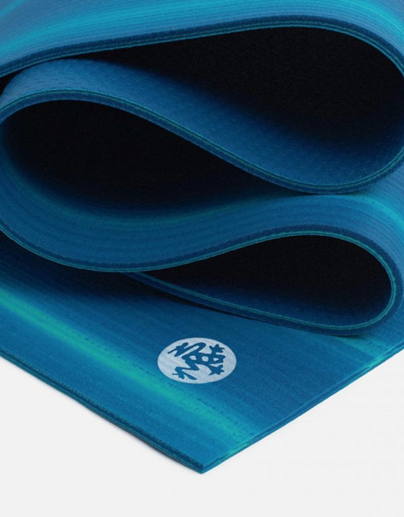 "Manduka PRO Mat 71"" - Teal/Blue Pattern"